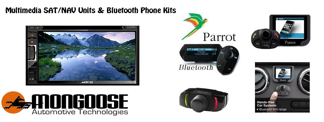 Multimedia Navigation Systems and Bluetooth Phone Kits