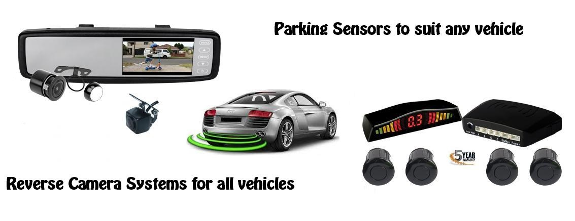 Reverse Cameras and Parking Sensors